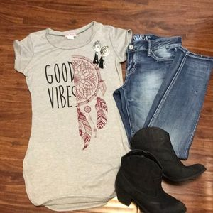 Tops - Good vibes top